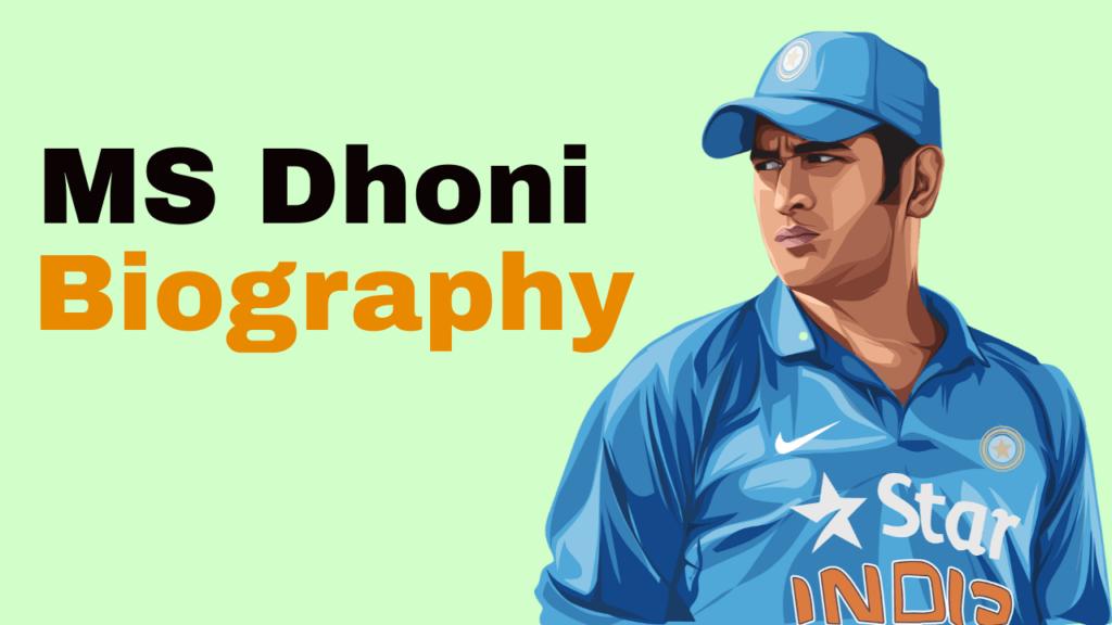 Biography of MS Dhoni in Hindi